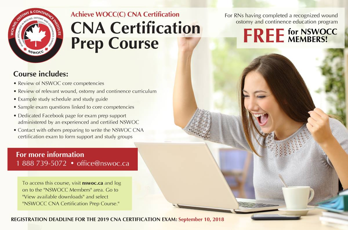 Cna Certification Prep Course Wound Ostomy And Continence